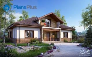 X1 X1 - проект классического дома с мансардным этажом фото 1