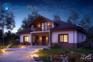 X1 X1 - проект классического дома с мансардным этажом фото 4