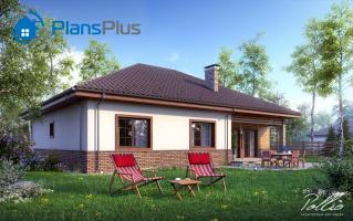 X1 X1 - проект классического дома с мансардным этажом фото 3