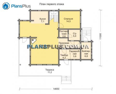 планировки первого этажа проекта M103