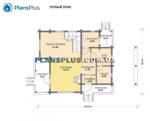 планировки первого этажа проекта M116
