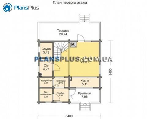 планировки первого этажа проекта M133