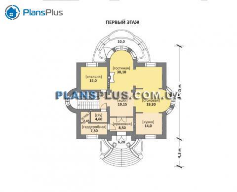 планировки первого этажа проекта M160