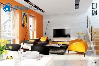 """P1 P1 - проект двух этажного дома по технологии """"пассивный дом"""" фото 4"""