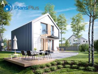 """P1 P1 - проект двух этажного дома по технологии """"пассивный дом"""" фото 2"""