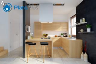 """P1 P1 - проект двух этажного дома по технологии """"пассивный дом"""" фото 5"""