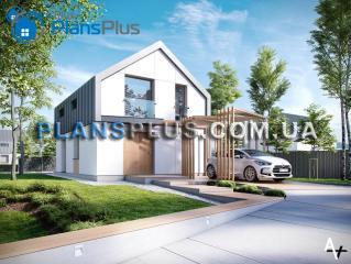"""P1 P1 - проект двух этажного дома по технологии """"пассивный дом"""" фото 3"""