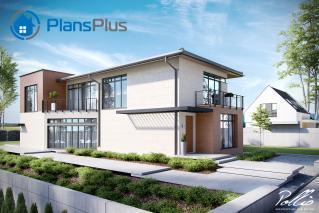 """X11 X11 - проект современного двухэтажного дома по технологии """"энергоэфективный дом"""" фото 2"""