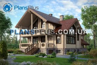 M144 М144 - проект классического просторного трехэтажного деревянного дома фото 1