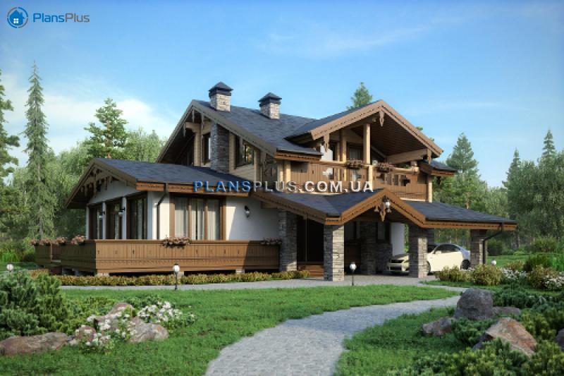 M189. М189 - проект классического двухэтажного дома с роскошным балконом