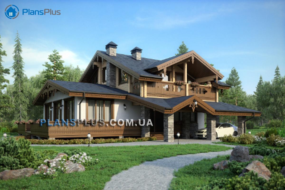 M189 М189 - проект классического двухэтажного дома с роскошным балконом  фото