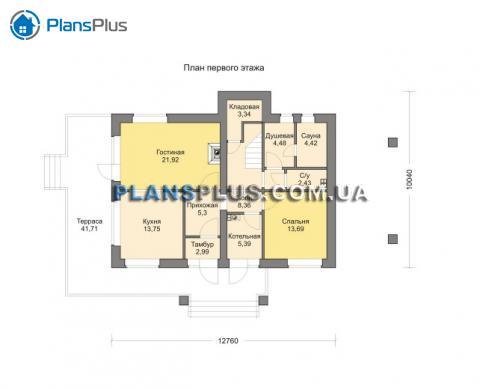 планировки первого этажа проекта M190