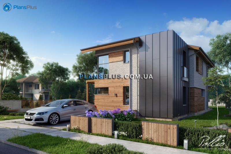 X13. X13 - уютный современный двухэтажный дом