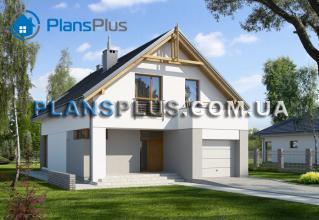 E107 E107 - проект популярного классического дома с мансардой фото 1