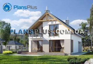 E107 E107 - проект популярного классического дома с мансардой фото 2