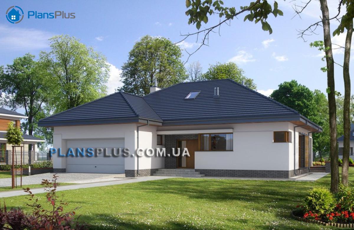 E114 E114 - проект популярного классического дома с мансардой фото
