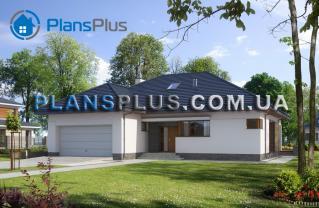 E114 E114 - проект популярного классического дома с мансардой фото 1