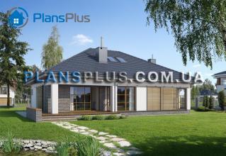 E114 E114 - проект популярного классического дома с мансардой фото 2
