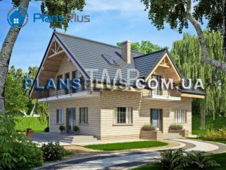 Alpina Alpina - популярный проект классического дома с мансардой фото 1