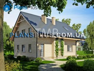 Alpina Alpina - популярный проект классического дома с мансардой фото 2