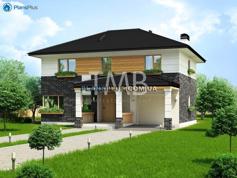 Argon. Argon - проект популярного классического двухэтажного дома